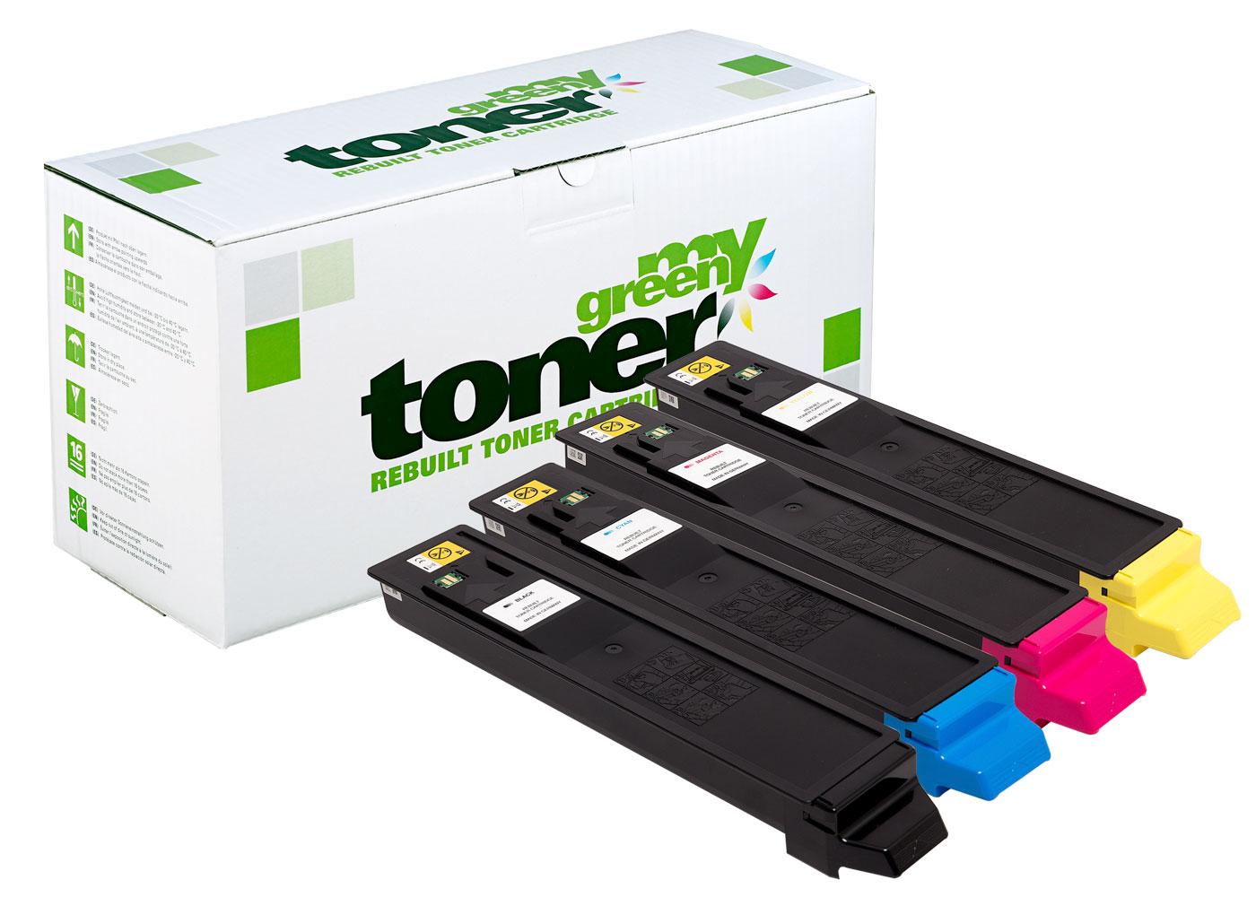 Rebuilt toner cartridge for Kyocera ECOSYS M8124/8130