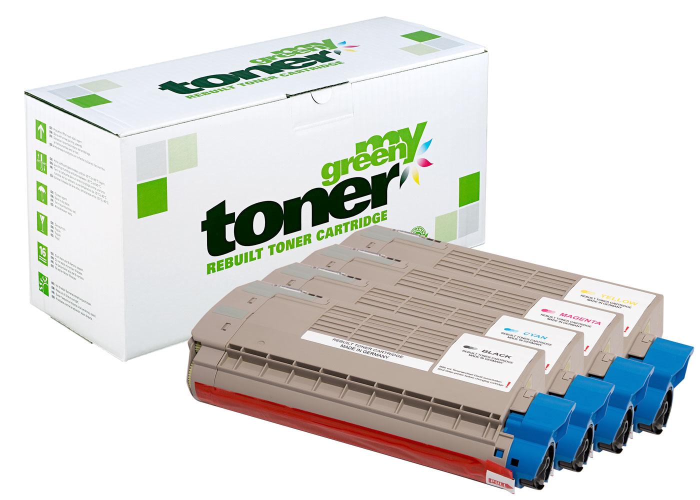 Rebuilt toner cartridge for Oki ES 7412