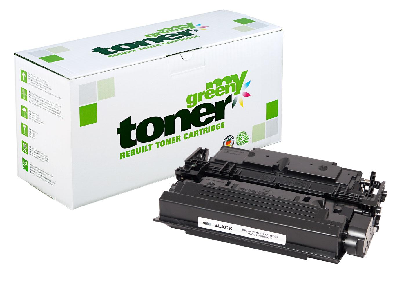 Rebuilt toner cartridge for HP LaserJet Enterprise M507 a. o.