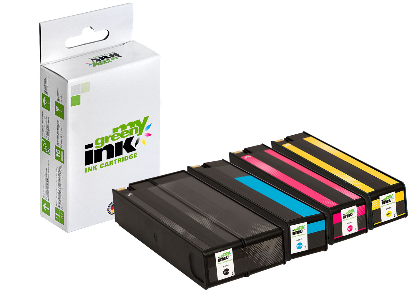 Refill ink cartridge for HP PageWide Color 755, MFP 774 a. o.