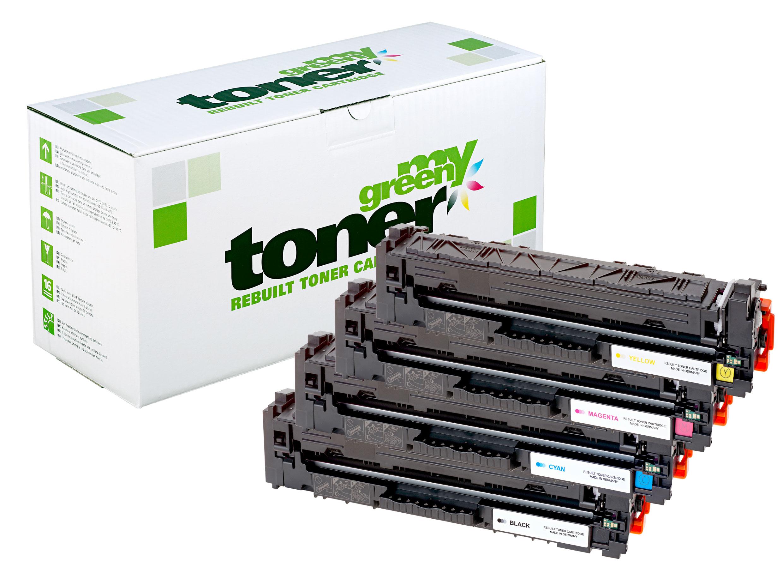Rebuilt toner cartridge for HP Color LaserJet Pro M155/183