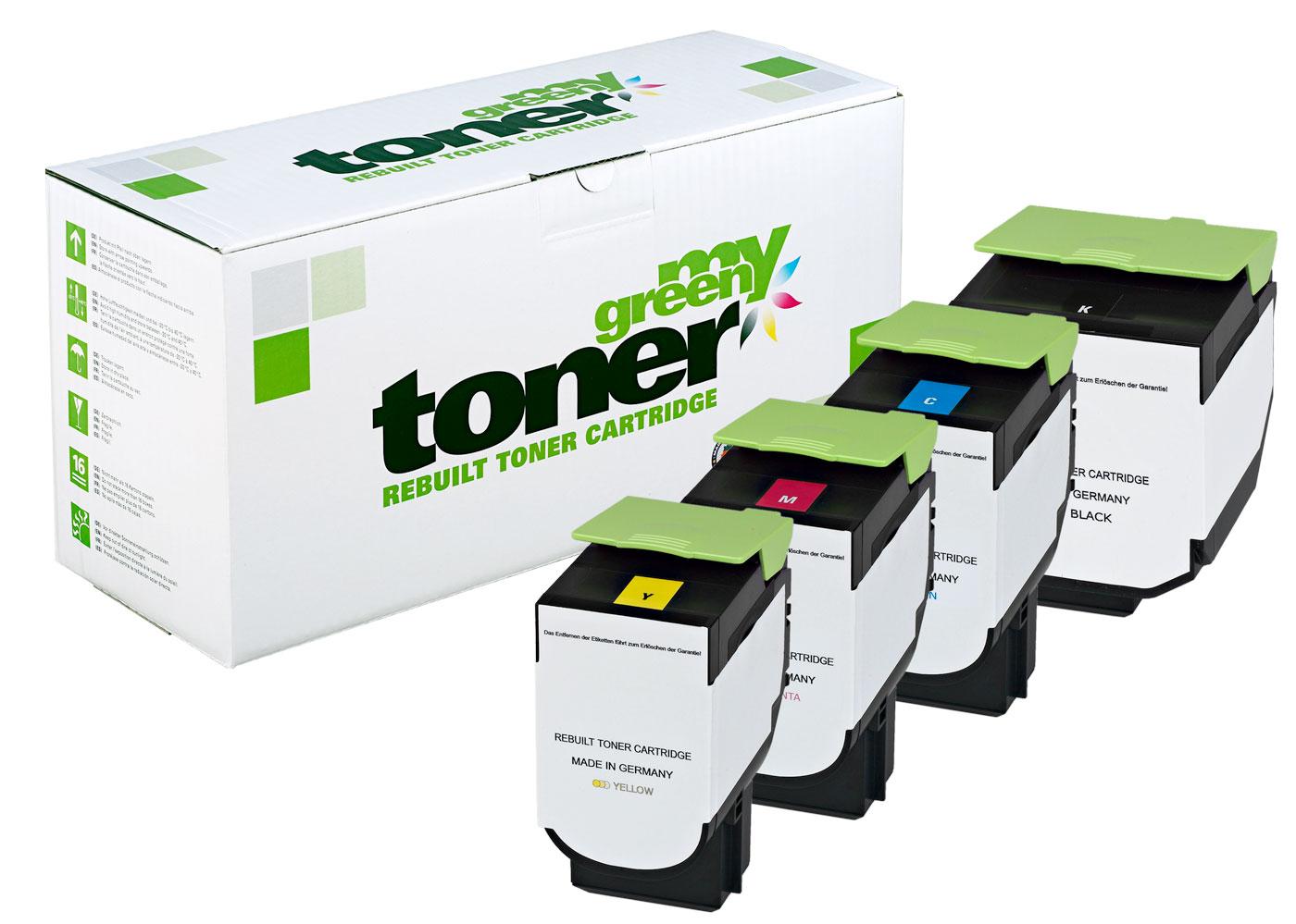 Rebuilt toner cartridge for Lexmark CS 421, CX 421/522