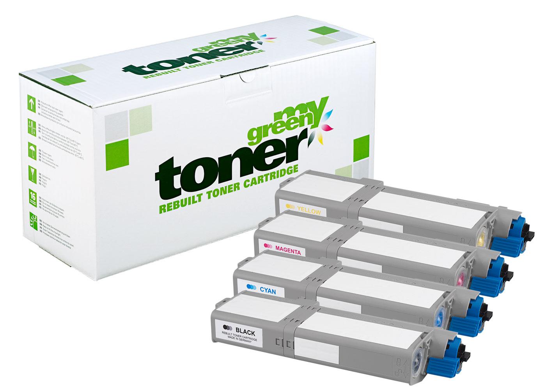 Rebuilt toner cartridge for Oki ES5432/5442/5463/5473